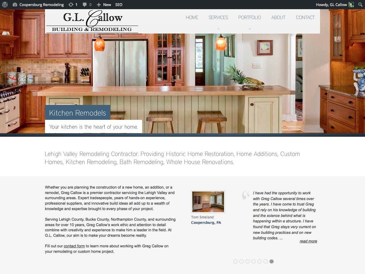 Glcallow home